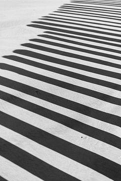 Schaduw ritme van Rob Donders Beeldende kunst