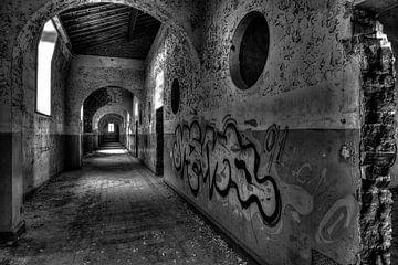 Gefängnis-Halle 2 von Kirsten Scholten