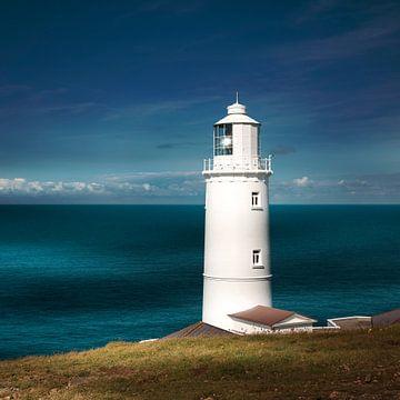 Vuurtoren Trevose Head in Cornwall van Sabine Wagner