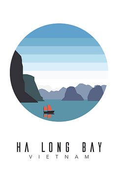 Vietnam - Ha Long Bay van Walljar