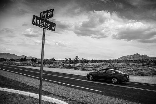 De historische Route 66 Arizona Amerika HW40 HW66