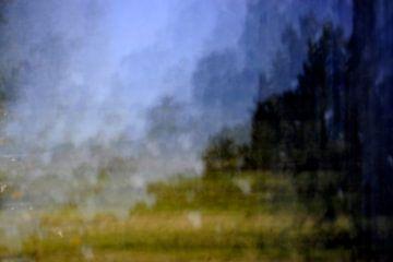 Pinhole landschap van Michel Mees