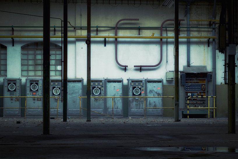 Abstract industrial van Rigo Meens