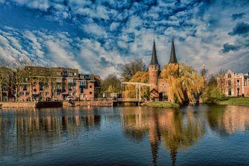Delft de Stadspoort van Brian Morgan