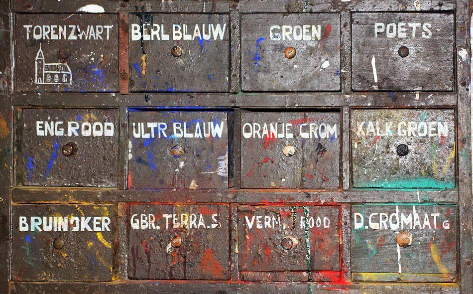 colors van Yvonne Blokland