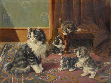Familie Katze, Burkhard Flury