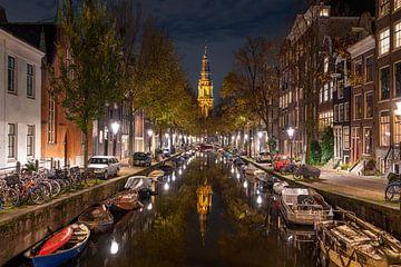 Les lumières sont allumées à Amsterdam sur Peter Bartelings Photography