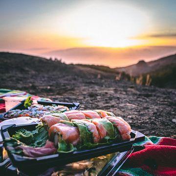Heerlijke Sushi op hoogte van Milad Hussin