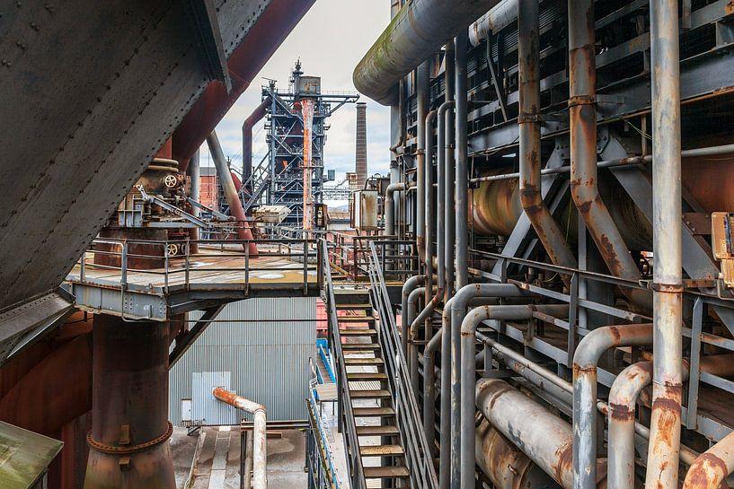 Industrieel landschap van Evert Jan Luchies