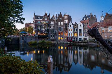 Atmosphérique Delfshaven, Rotterdam sur Chris Snoek