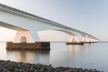 Zeelandbrug zonsondergang van de Roos Fotografie