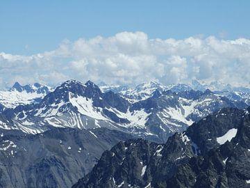Uitzicht over de Franse alpen sur Mirjam Otto