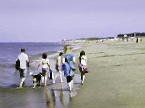 Strand sfeertjes | Familie wandeling  | Strandleven