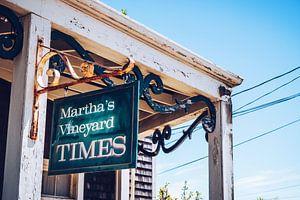 Martha's Vineyard Times van