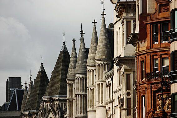 London ... roofs van Meleah Fotografie
