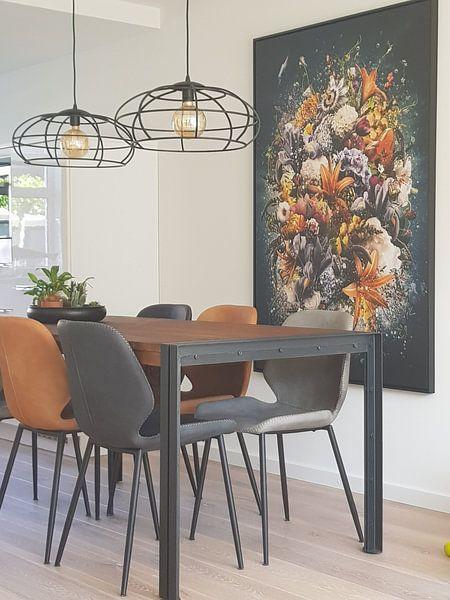 Kundenfoto: Amaranthine von Jesper Krijgsman, auf leinwand