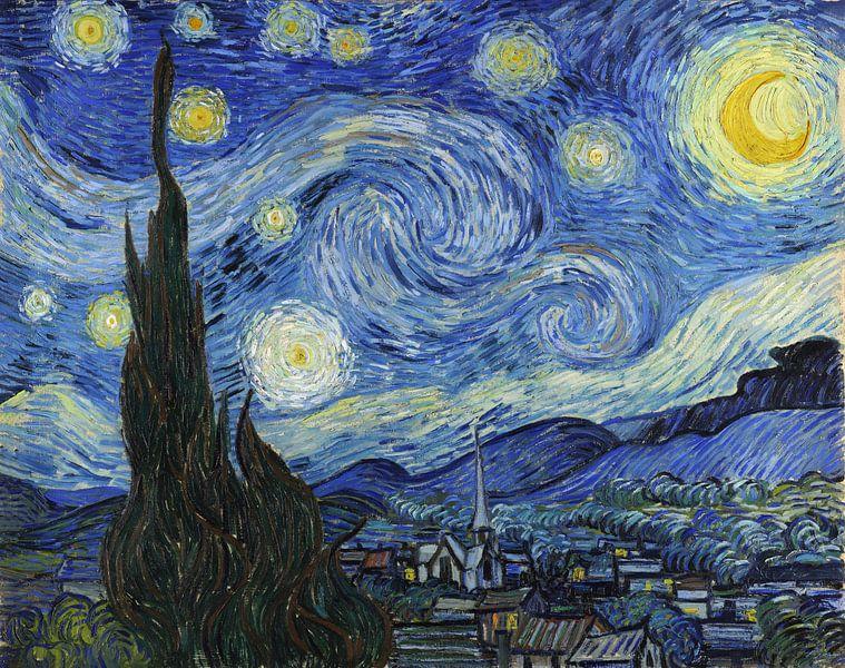 Sternennacht (Vincent van Gogh) von Rebel Ontwerp