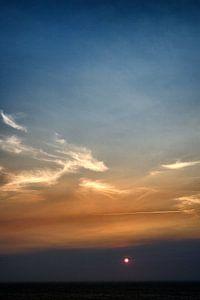 Zonsondergang aan de Portugese kust, Algarve