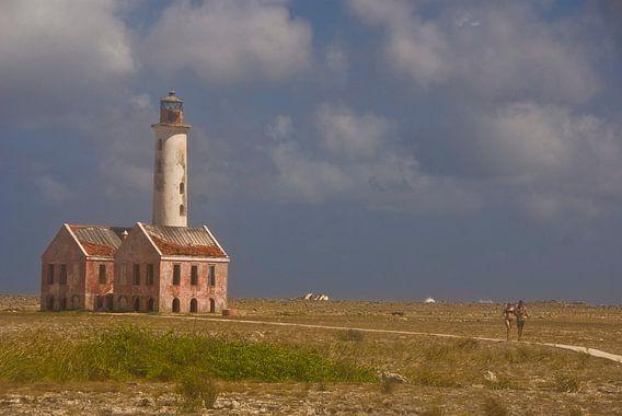 Vuurtoren op Klein Curacao van Olaf Piers