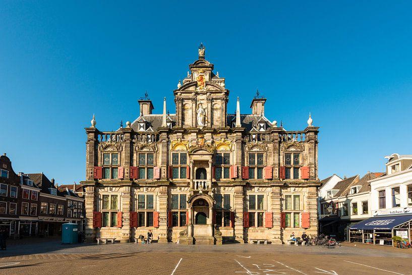 Delft Stadhuis van Brian Morgan