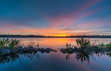 Bunter Himmel bei Sonnenuntergang von Marcel Kerdijk