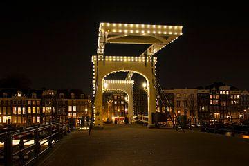 De Magere Brug - Amsterdam van Barbara Brolsma