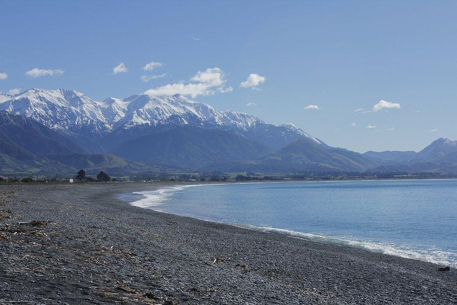 Winter bij zee van Inge Teunissen