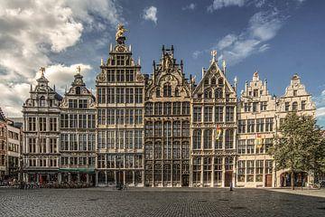 Grote Markt Antwerpen van Mario de Lijser