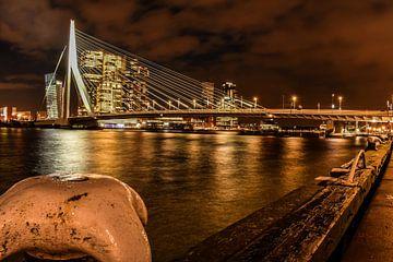 De Erasmusbrug in Rotterdam van Michelle van den Boom