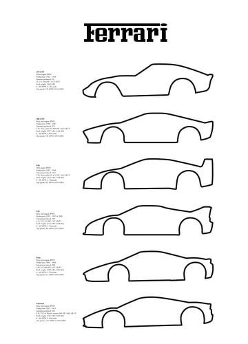 Ferrari Supercars (tekst)