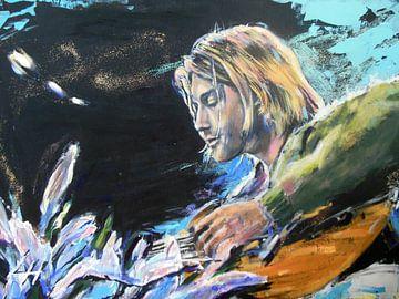 Kurt Cobain - Nirvana von Lucia Hoogervorst