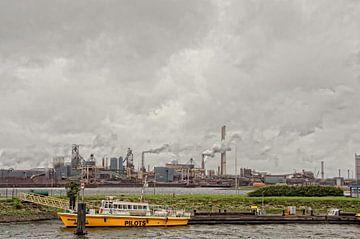 IJmuiden harbor. sur Don Fonzarelli