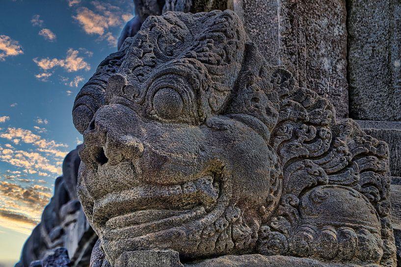 Prambanan: Detail von Eduard Lamping