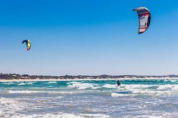 Kitesurfing in Mozambique von
