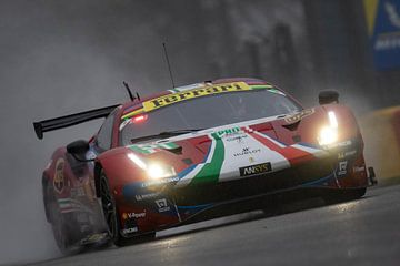 Total 6h of Spa, AF Corse Ferrari 488 EVO van Rick Kiewiet