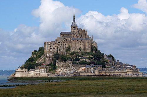 Mont Saint-Michel van