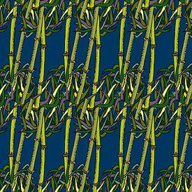 Bambou Grafique sur Marijke Mulder