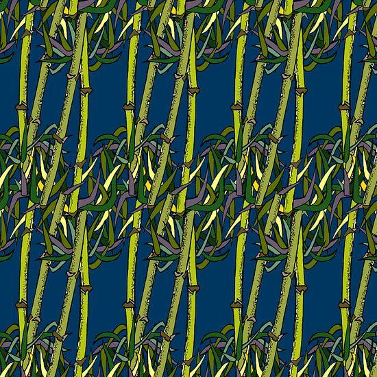 Bambou Grafique sur MY ARTIE WALL