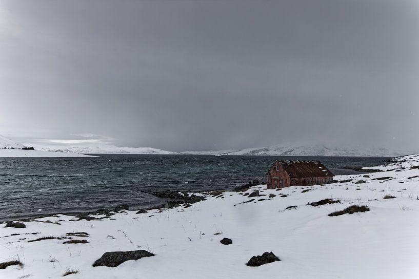 Alte Fischerhütte von Michael Wolf