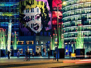 Berlin – Potsdamer Platz (Festival of Lights) van