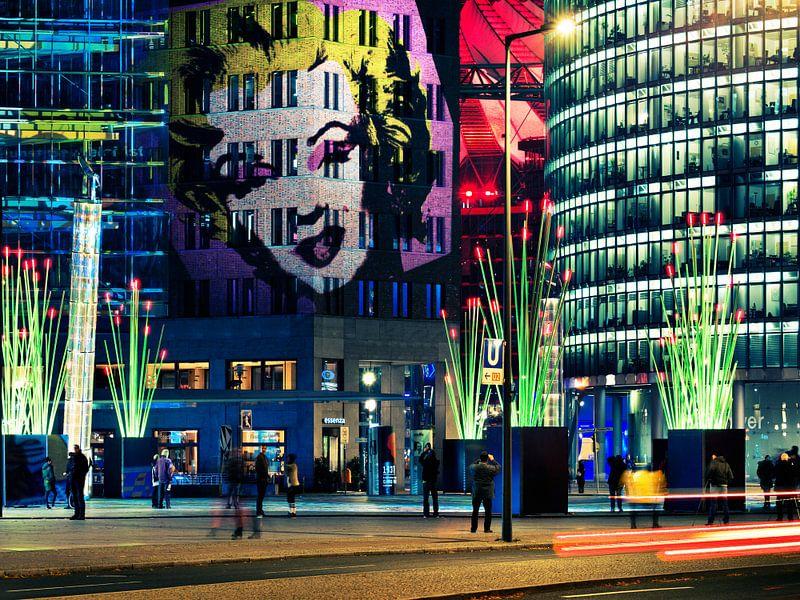 Berlin – Potsdamer Platz (Festival of Lights) sur Alexander Voss