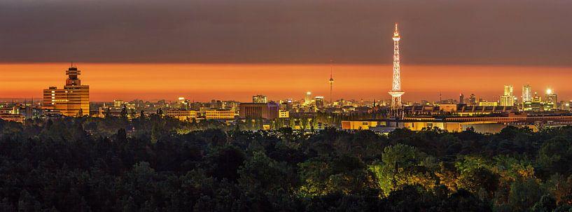 Lever de soleil à Berlin sur Frank Herrmann