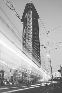 Het Strijkijzer, Haagse Skyline van Christopher A. Dominic