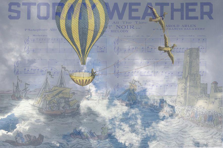 Stormy Weather van Marit Kout