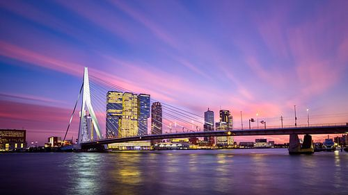 Schoonheid boven Rotterdam van