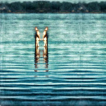 Tweeling, alleen maar kunst van Heiko Westphalen
