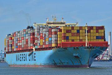 Containerschip de Maersk Essex van Piet Kooistra