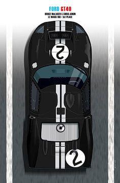 McLaren-Amon GT40 van Theodor Decker