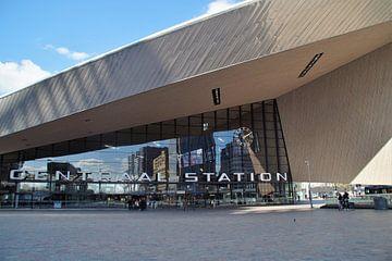 Centraal Station Rotterdam / Central Station Rotterdam van Maurits Bredius