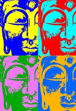 Buddha like Warhol van Michael Ladenthin